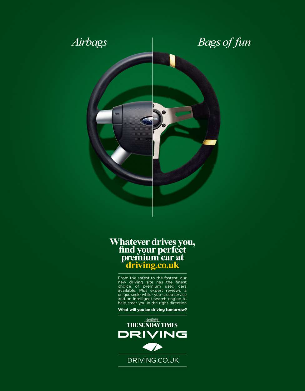 The Sunday Times: Driving — James Day Photographer